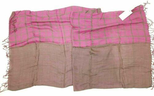VL direct sur les hanches marques foulard écharpe Avec Franges 50/% coton 50/% viscose NEUF Prix Recommandé 39 €