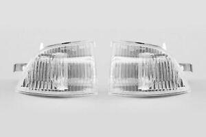 Ford-Focus-MK2-04-08-Transparent-Miroir-Clignotants-Paire-de-Conducteur-Passager