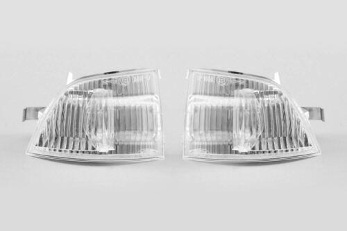 Ford Focus MK2 04-08 Espejo Clear Indicadores Repetidores Set Par Conductor Pasajero