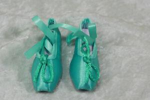 1-3-BJD-girl-SD-ballet-shoes-slippers-toe-shoe-Doll-ABJD-Dollfie-Toy-Mint-Green