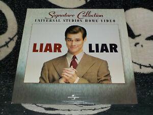 Liar Liar Signature Letterbox Laserdisc +Commentary +BTS Jim Carrey Free Ship$30