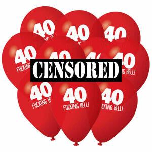 40th-Anniversaire-Ballons-Pack-10-Accessoires-Decorations-Fete-Accessoires-Hommes-Femmes