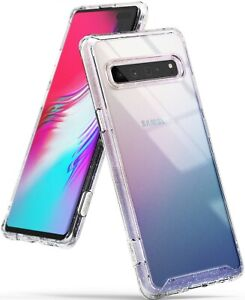 For-Samsung-Galaxy-S10-5G-Ringke-FUSION-GLITTER-Clear-Shockproof-Cover-Case