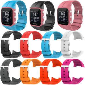 Reemplazo-correa-de-muneca-silicona-goma-reloj-banda-M400-Polar-M430-reloj