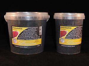 Charbon de charbon de bois de base, eau douce douce, charbon actif, Silbermann, 5000 ml