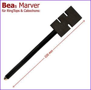 NEU-Graphitpaddel-BEAs-MARVER-f-RingTops-Cabochons-und-Off-Mandrel-Designs