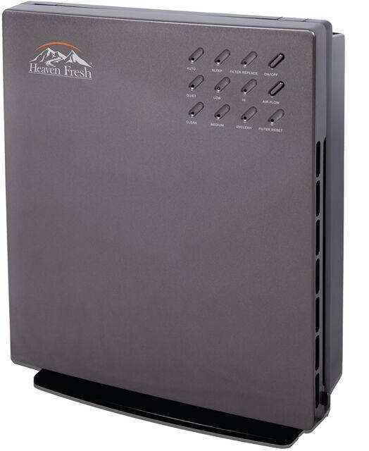 NaturoPure 5 IN 1 Intelligent True Hepa & Carbon Air Purifier with CADR 165CFM