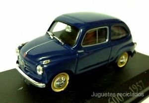Fiat-600-1957-1-43-Ixo-RBA-Diecast-coche-a-escala