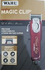 New Wahl 5 Star Cord/Cordless Magic Clip 8148 Fade Clipper 100-240 Volt 50/60 Hz