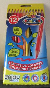 Caja-12-lapices-de-colores-hexagonales-CARIOCA-enjoy-eco