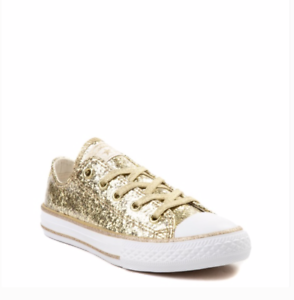 New Girls Converse CTAS OX Glitter