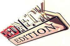 REDNECK EDITION emblem CRANE CARRIER OTTAWA FIRE TRUCK oshkosh logo DECAL sign .