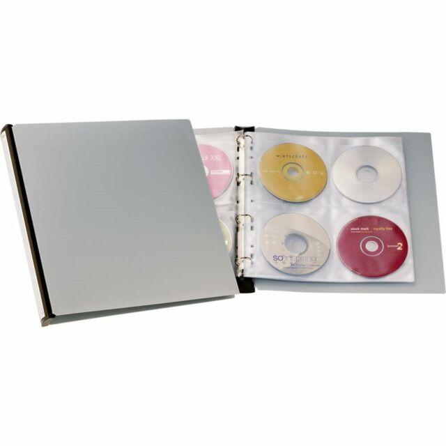Raccoglitore per CD/DVD Durable 96 CD/DVD/Blu-ray Nero, Grigio 12 pz. 527701