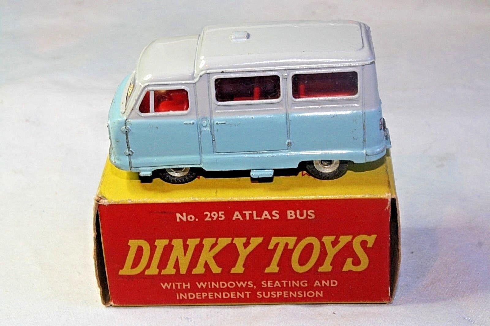 Dinky 295 295 295 Atlas Kenebrake Bus, Excellent Condition in Original Box f53011