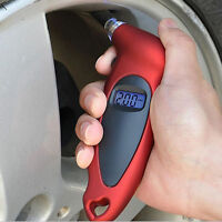 New ! LCD Digital Auto Car Motorcycle Air Pressure Tire Tyre Gauge Tester Tool X