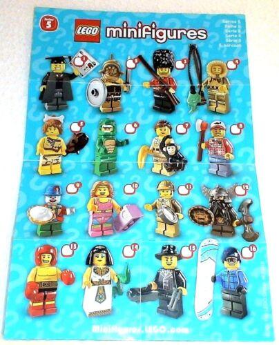 LEGO® Minifigur Serie 5-8805 ungeöffnete Tüte 08 Holzfäller sealed