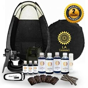 HVLP TS20 SPRAY TANNING KIT, MACHINE,TENT, SPRAY TAN & MORE! SHOULD BE £299!!