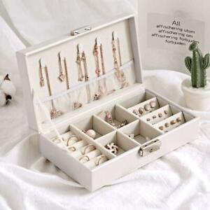 Portable-Jewelry-Leather-Storage-Box-Necklaces-Earrings-Bracelet-Display-Case