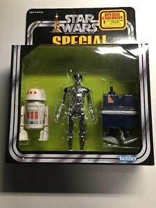 Spécial Star Wars Death R5d4 Gonk Droid Exclusif Vintage Géant Doux!