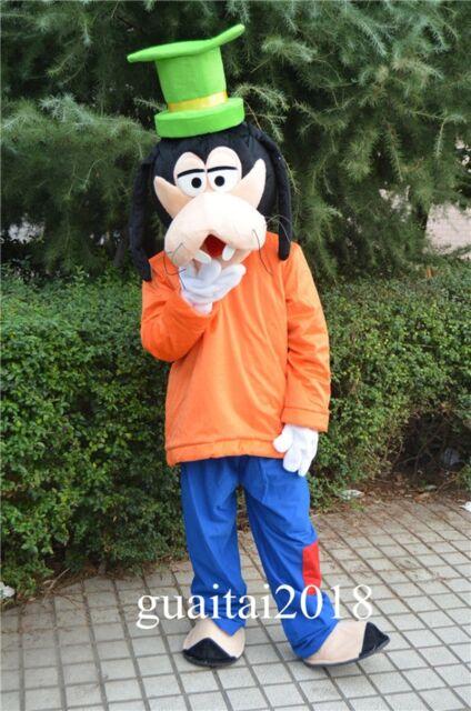 Picture 11 of 15 & Goofy Pluto Mascot Costume Dog Cartoon Costume Fancy Dress Adults ...