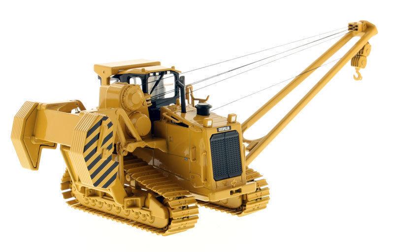 587 T 1 50 DIECAST poseur de canalisations Construction Modèle Die-casting Véhicule Camion 85272