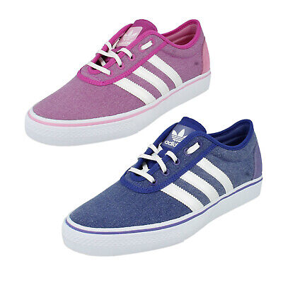 LADIES ADIDAS LACE UP CASUAL CANVAS
