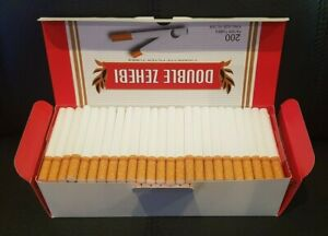 CLEARANCE-1600-RED-KING-SIZE-ROLLO-TUBE-Cigarrette-Tobbacco-Rolling-Filter