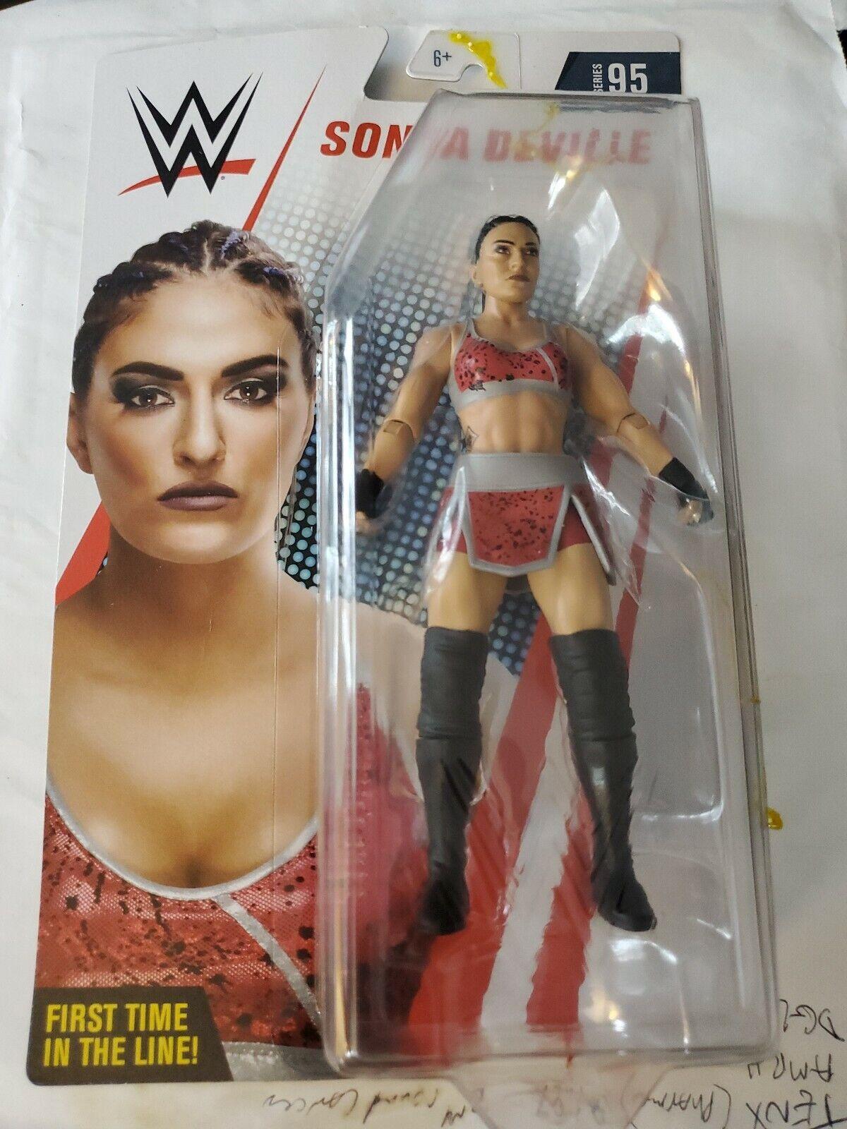 SONYA Deville WWE Mattel Basic Core Series 95 Wrestling Action Figure Jouet-NEUF!