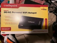 New Cradlepoint PHS300 3G//4G Personal WiFi Hotspot PHS300CP