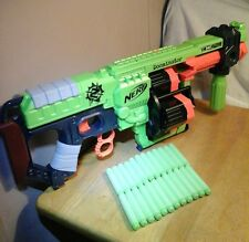 item 2 Nerf Zombie Strike Doominator Blaster Gun 24 Darts Toy Kids Dart  Refill Revolver -Nerf Zombie Strike Doominator Blaster Gun 24 Darts Toy  Kids Dart ...