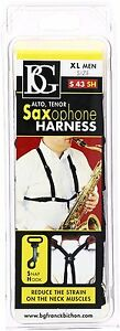 BG-S43SH-Extra-Large-Size-Saxophone-Harness-for-Men-with-Snap-Hook