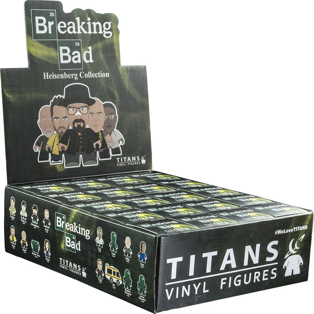 BREAKING BAD - Heisenberg Collection 3  Blind Box Vinyl Figurines Display (20ct)