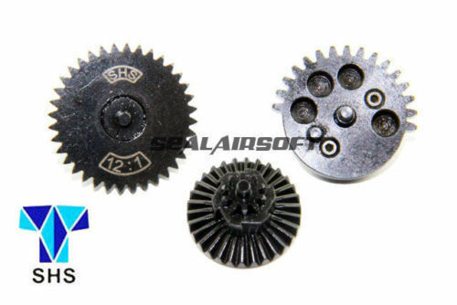 121 SHS New Design CNC Extreme High Speed Gear for Ver.2 3 Airsoft Gearbox AEG