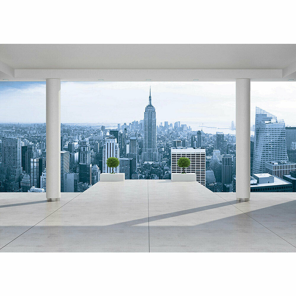 Photo Wall Paper New York Manhattan Skyline View Liwwing No. 3093