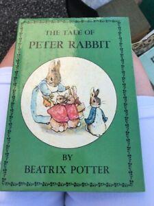 Antyki i Sztuka NEW Peter Rabbit Christmas Collection Beatrix Potter Hardcover w/ Satin Bookmark