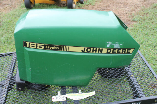 John Deere 165 Hydro Parts : John deere hydro riding mower tractor hood kawasaki
