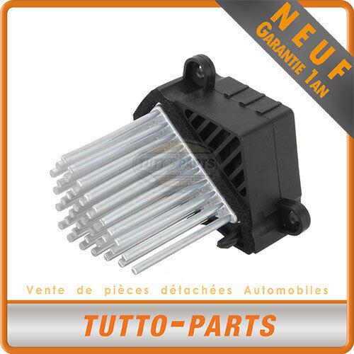 Résistance Chauffage Ventilation BMW 64118362931 64118376174 64118380580 E2967