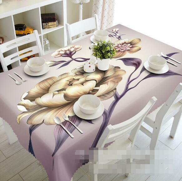 3D Flowers 411Tablecloth Table Cover Cloth Birthday Party Event AJ WALLPAPER AU
