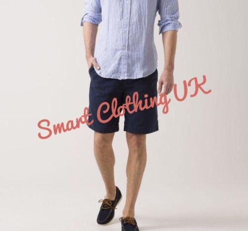 RRP £104 Ralph Lauren Men's Casual Linen Shorts Navy