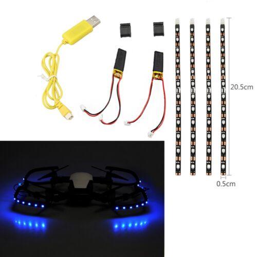 Nacht Fliegen Lampe Gürtel LED Gürtel Licht Streifen Für DJI Mavic Air Drone GE