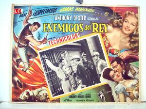 THE-BRIGAND-ANTHONY-DEXTER-1952-OPTIONAL-SET-MEXICAN-LC