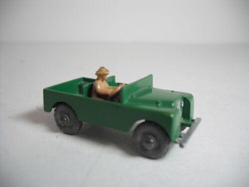 Vintage Moko Lesney Matchbox Land Rover #12A Safari Jeep GMW NEAR MINT