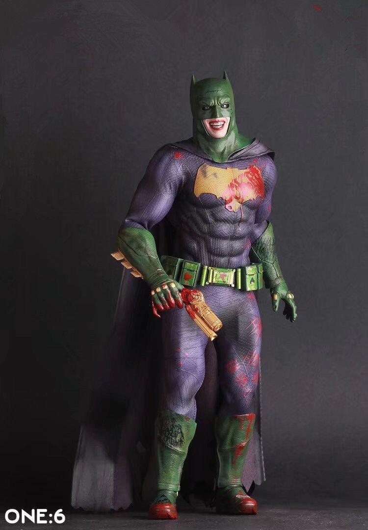 Crazy Toys Suicide Squad The Joker Batman Imposter Version PVC Figure New In Box