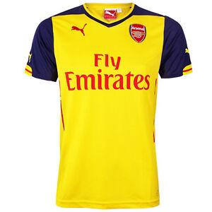 c1beb81ffff Puma Arsenal AFC Kids Boys Away Replica 2014/2015 Football Shirt ...