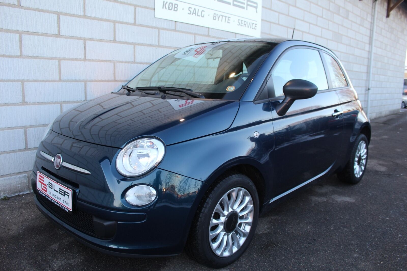 Fiat 500 1,2 Lounge 3d