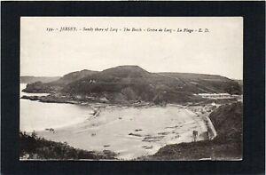 JERSEY - Sandy shore of Lecq - The Beach, Channel Islands.   L.L. - E.D. no.139.