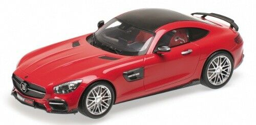 Brabus 600 (base Mercedes AMG GT s) rosso 1 18 Minichamps