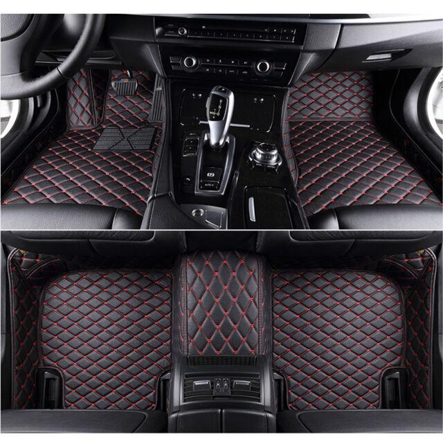 Bmw I8 2014 On Black Black Tailored Floor Car Mats Carpet //Rubber