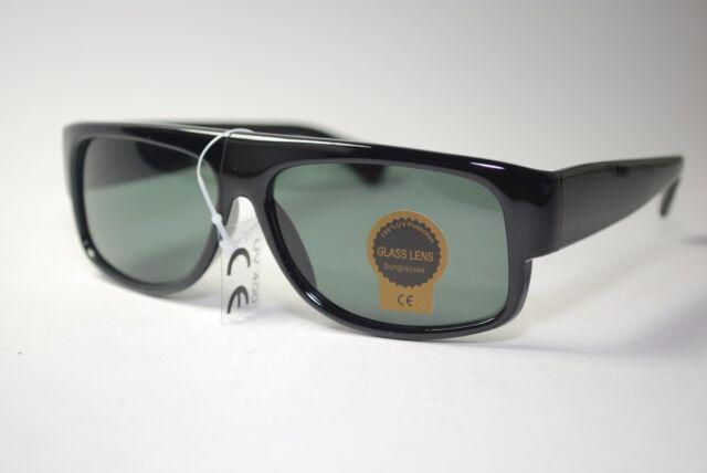 38d8bf24708 Eazy E Black Locs Car Motorcycle Gangster Cholo Rap Sunglasses GLASS LENS  NEW