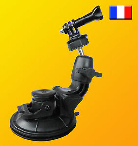 Support fixation ventouse camera GoPro Hero 1 2 3 3 4 5 photo moto quad